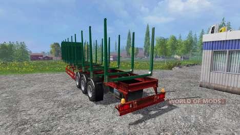 Schmitz SO1 для Farming Simulator 2015