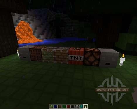 CubeBlocks [16x][1.7.2] для Minecraft