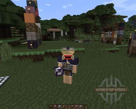 Romecraft [16x][1.7.2] для Minecraft