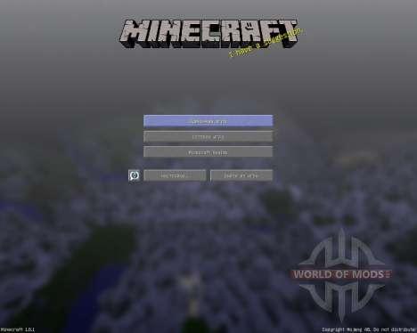StarkCraft [16х][1.8.1] для Minecraft