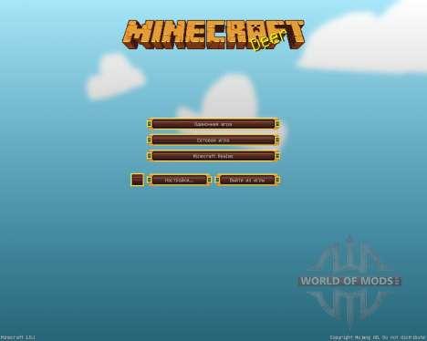 Bluebird [16x][1.8.1] для Minecraft