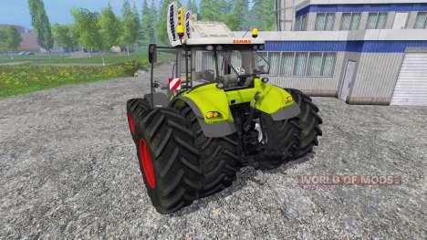 CLAAS Axion 850 v4.0 для Farming Simulator 2015