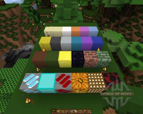 Movidacraft Simple Texture Pack [16x][1.8.1] для Minecraft