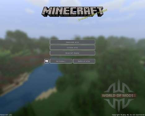 Porkchop Media [128x][1.8.1] для Minecraft
