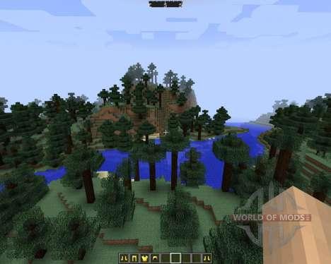 DirectionHUD [1.7.2] для Minecraft