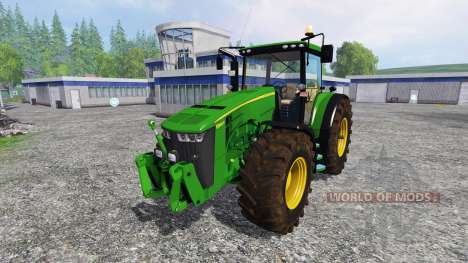 John Deere 8360R для Farming Simulator 2015