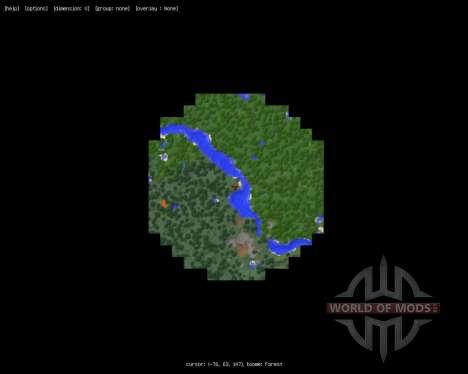 MapWriter [1.7.2] для Minecraft