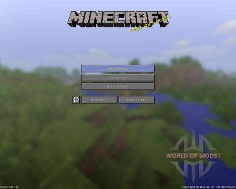 Simplefinite [16x][1.8.1] для Minecraft