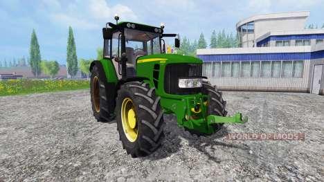 John Deere 6830 Premium FrontLoader для Farming Simulator 2015