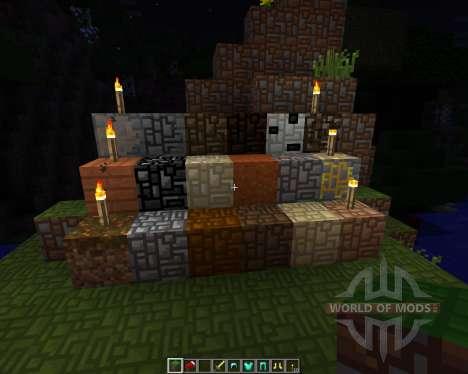 Elements Now [16x][1.7.2] для Minecraft