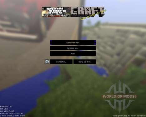 Gta San Pack [64x][1.7.2] для Minecraft