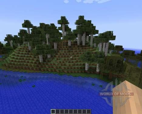 Alternate Terrain Generation [1.7.2] для Minecraft
