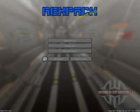 REX PACK [32х][1.8.1] для Minecraft