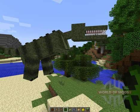 LotsOMobs [1.7.2] для Minecraft