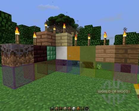 Silver Stone [64x][1.7.2] для Minecraft