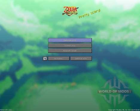 Zelda Minish Cap Texture Pack [16x][1.8.1] для Minecraft