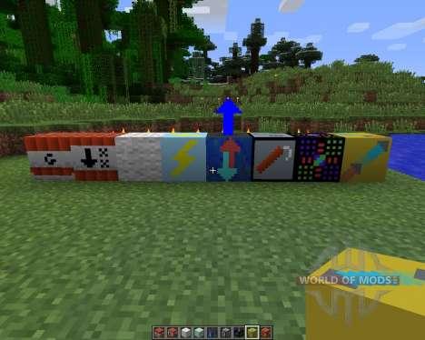 Gizmos [1.6.2] для Minecraft