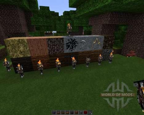 Hammerite [64x][1.7.2] для Minecraft