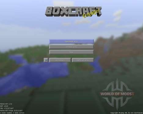 Box Craft [16x][1.7.2] для Minecraft