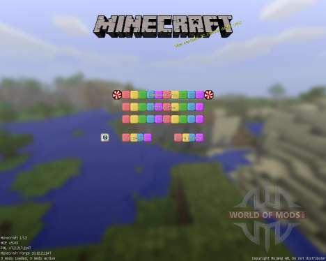 SugarPack [32x][1.7.2] для Minecraft