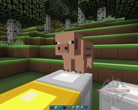 Plastic [16x][1.7.2] для Minecraft