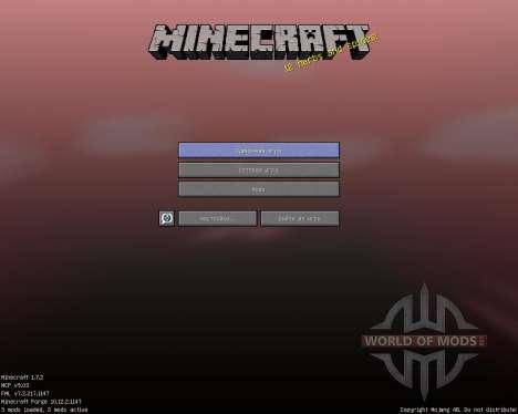 ShadowCraft [16x][1.7.2] для Minecraft