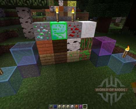 Leafwalkers Resource Pack [16x][1.7.2] для Minecraft