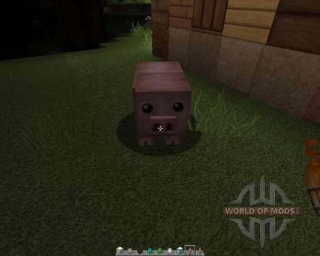 Persistence [128x][1.8.1] для Minecraft