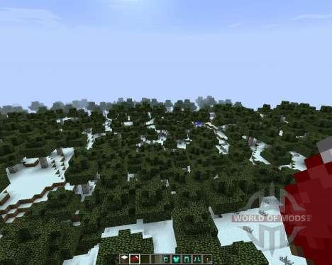 TX97 Christmas [16x][1.7.2] для Minecraft