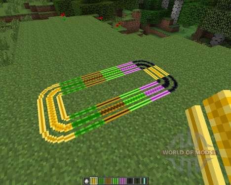 Expanded Rails [1.7.2] для Minecraft