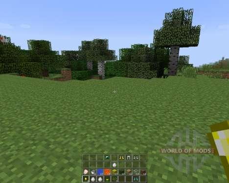 Quick Hotbar [1.7.2] для Minecraft