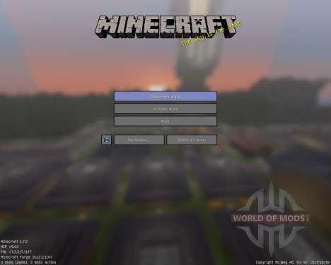 D_Flat [16x][1.7.2] для Minecraft
