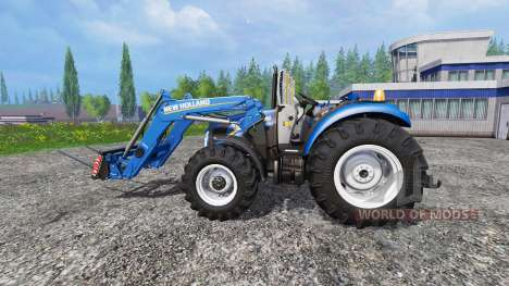 New Holland T4.75 garden edition v3.0 для Farming Simulator 2015