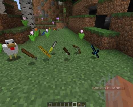 Ancient Swords [16x][1.8.1] для Minecraft
