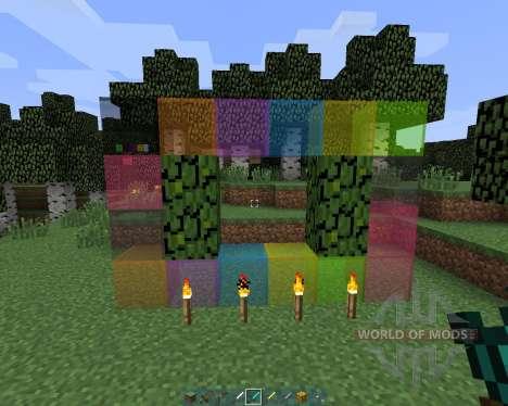 A15 Texture Pack Clear glass [16x][1.8.1] для Minecraft
