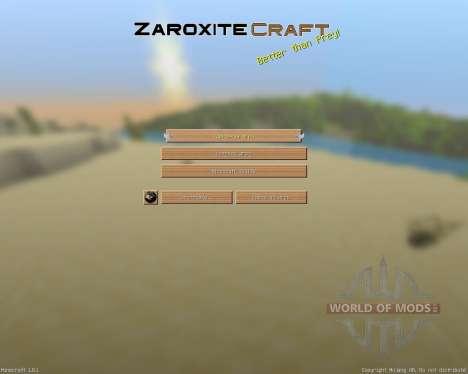 Zaroxite Craft [32x][1.8.1] для Minecraft