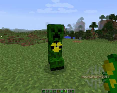 Elemental Creepers 2 [1.7.2] для Minecraft