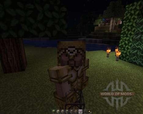 JohnSmith [32x][1.7.2] для Minecraft