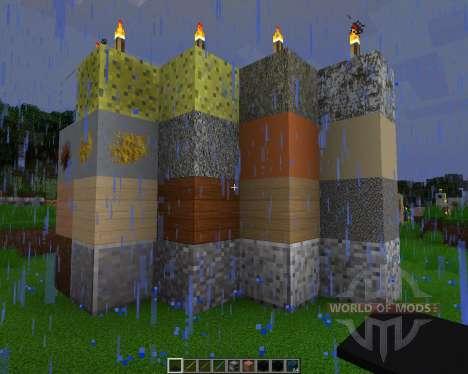 Detailed Realism [256x][1.8.1] для Minecraft