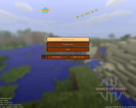 Xiticraft Simplistic pack [16x][1.7.2] для Minecraft