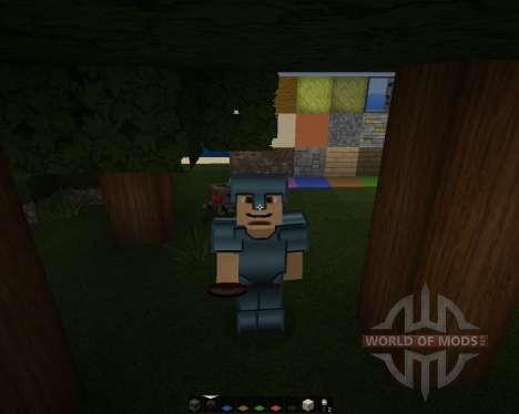 Modern HD [64x][1.8.1] для Minecraft
