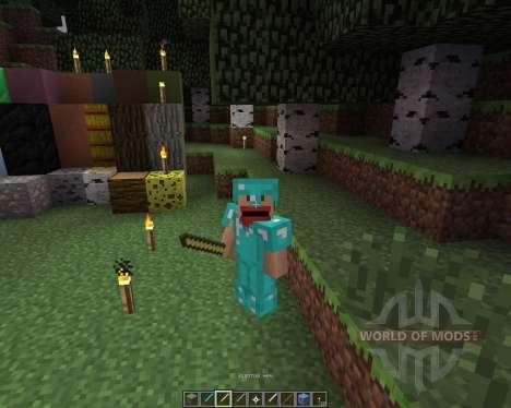 CraftedNinja [16x][1.7.2] для Minecraft
