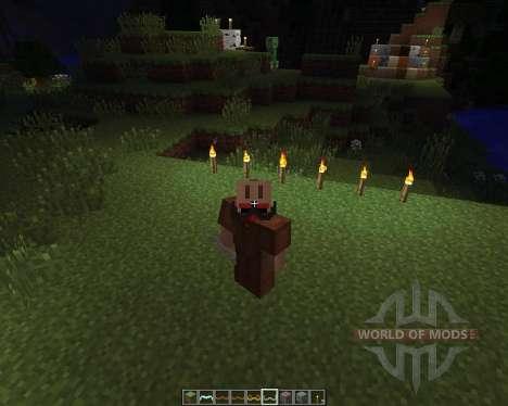 Mustache Craft [16x][1.7.2] для Minecraft