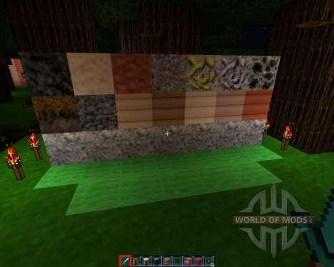 Zaurx [32x][1.7.2] для Minecraft