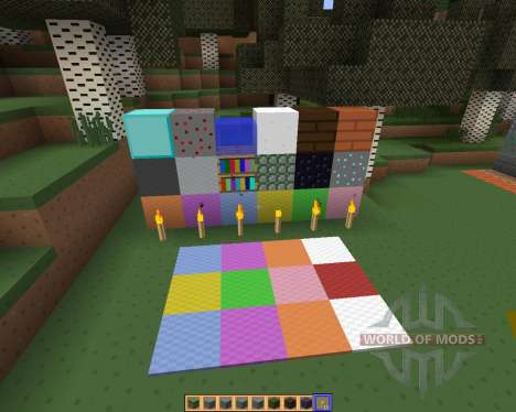 SimpleJCraft 3D [16x][1.8.1] для Minecraft