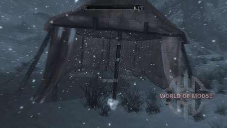 Заморозки - спасение в лагере [2.6] для Skyrim девятый скриншот
