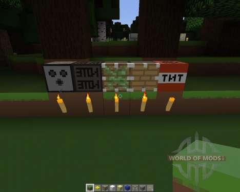 Simplistic [32x][1.7.2] для Minecraft