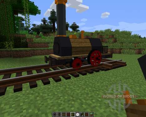 Rails of War Mod [1.6.2] для Minecraft