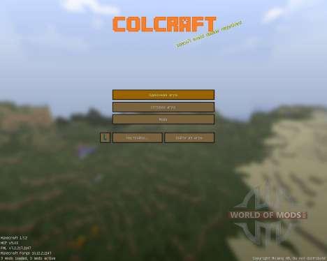 ColCraft [16x][1.7.2] для Minecraft