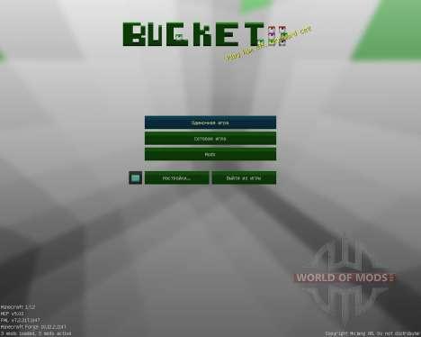 Bucket [16x][1.7.2] для Minecraft